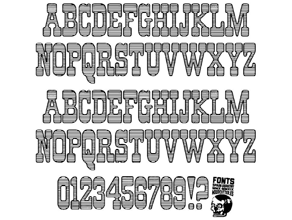 Indian Casino font
