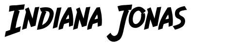 Indiana Jonas font