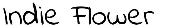 Indie Flower fonte