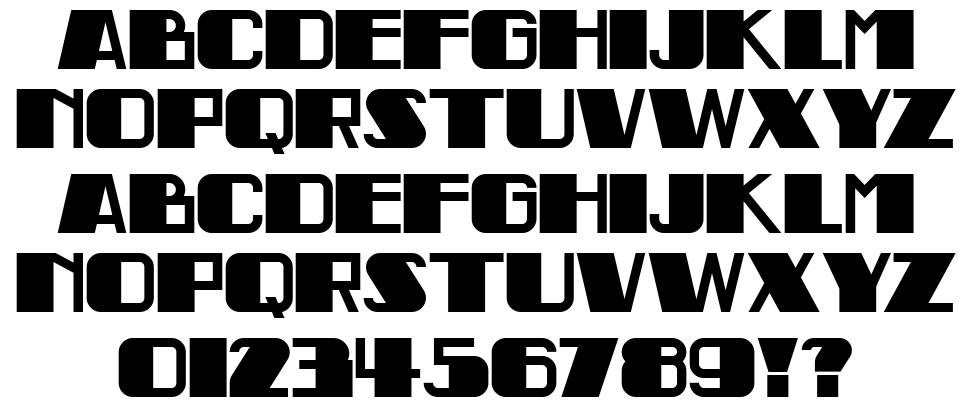 Indochine NF font