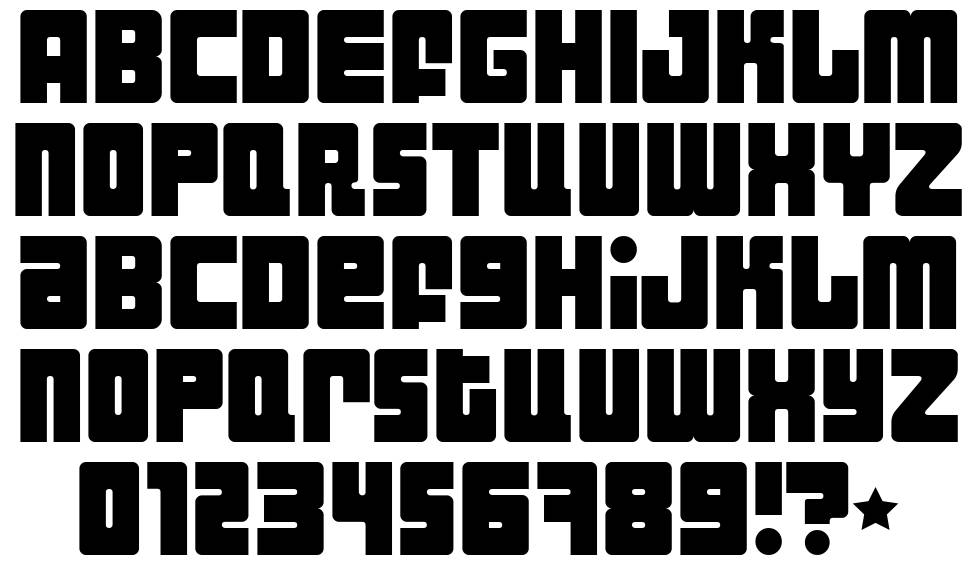 Industrial Decapitalist font