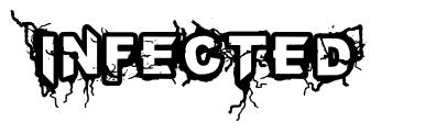 Infected 字形