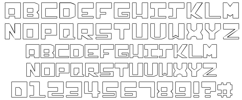 Infection font