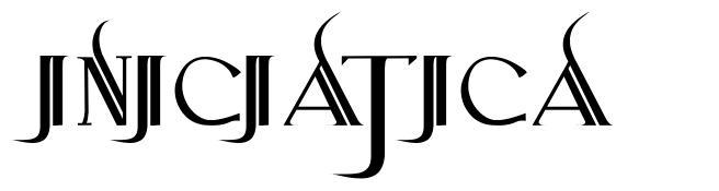 Iniciatica font