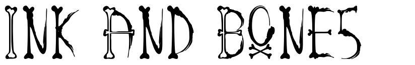 Ink And Bones font