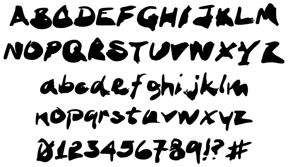 Ink Stand font