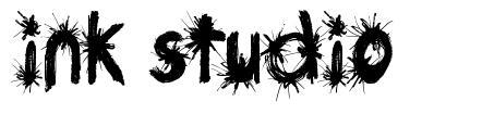 Ink Studio font
