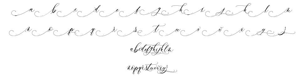 Inkland шрифт