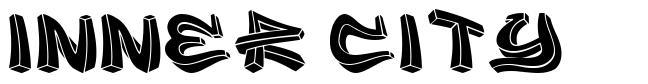 Inner City 字形