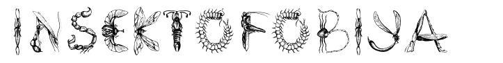 Insektofobiya font
