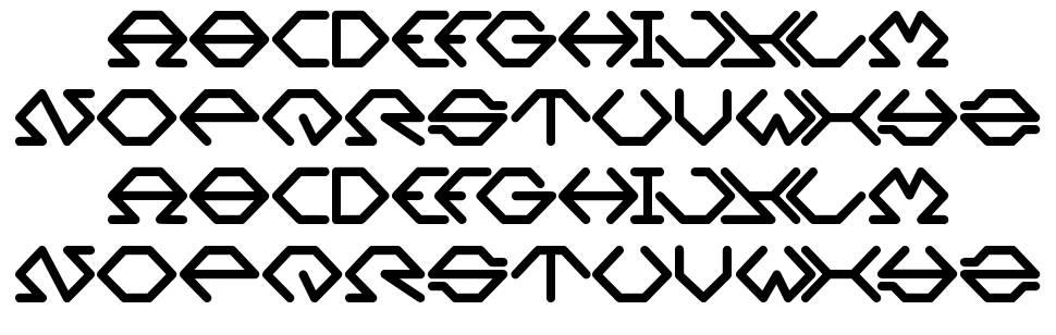 Inside font