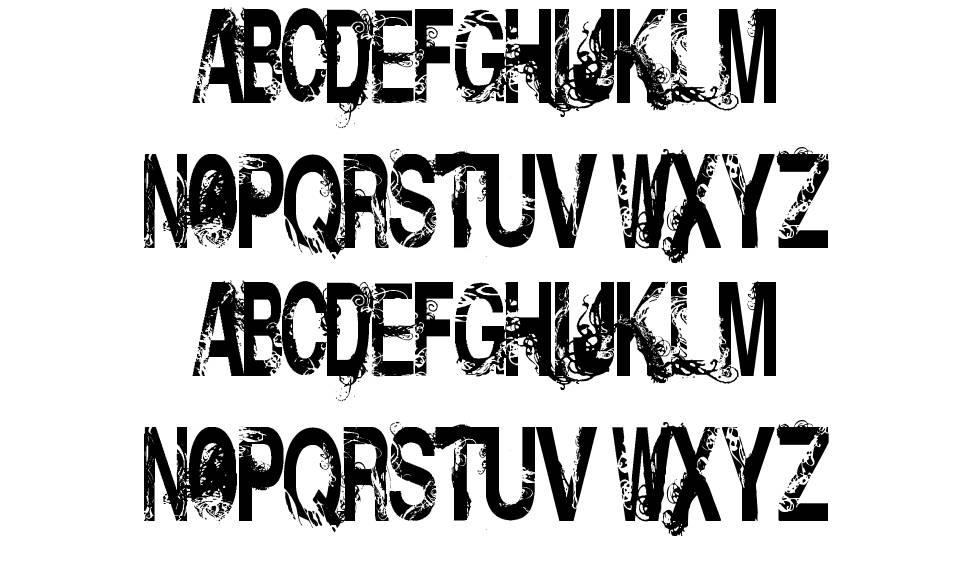 Insolent Bastards font