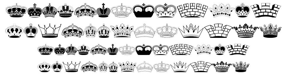 42 Free Crown Fonts Fontspace