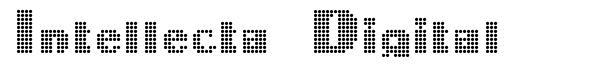 Intellecta Digital font