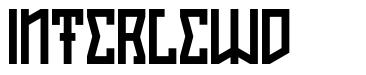 Interlewd font