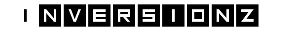 Inversionz font