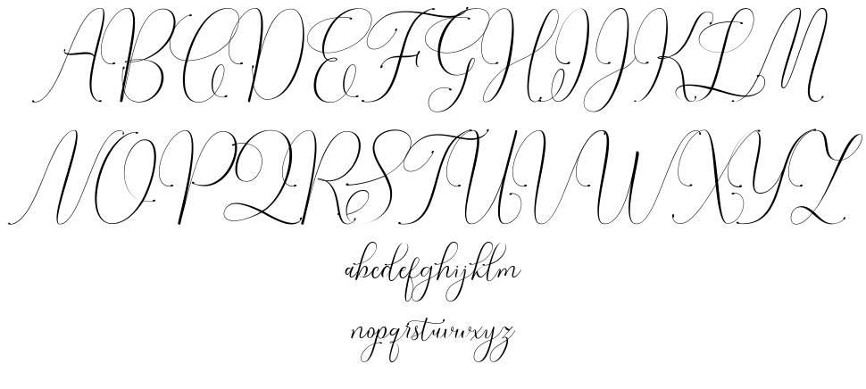 Irlandia Script шрифт