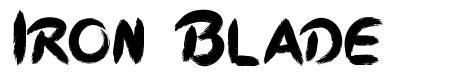 Iron Blade font