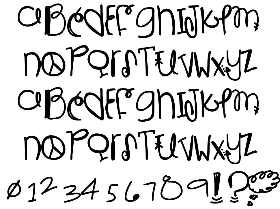 Is Bestest With You schriftart
