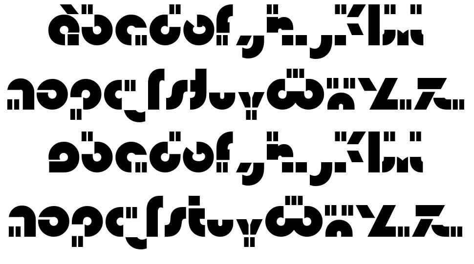 Isamu font