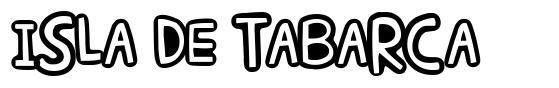 Isla de Tabarca font