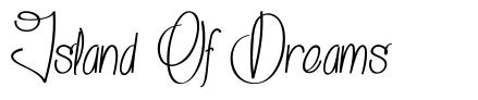 Island Of Dreams font