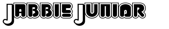 Jabbie Junior font