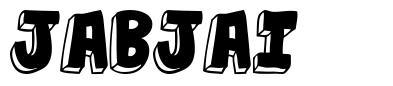 Jabjai schriftart