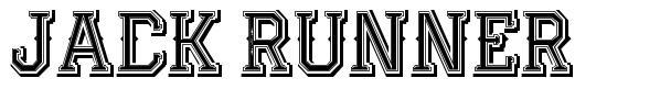 Jack Runner font
