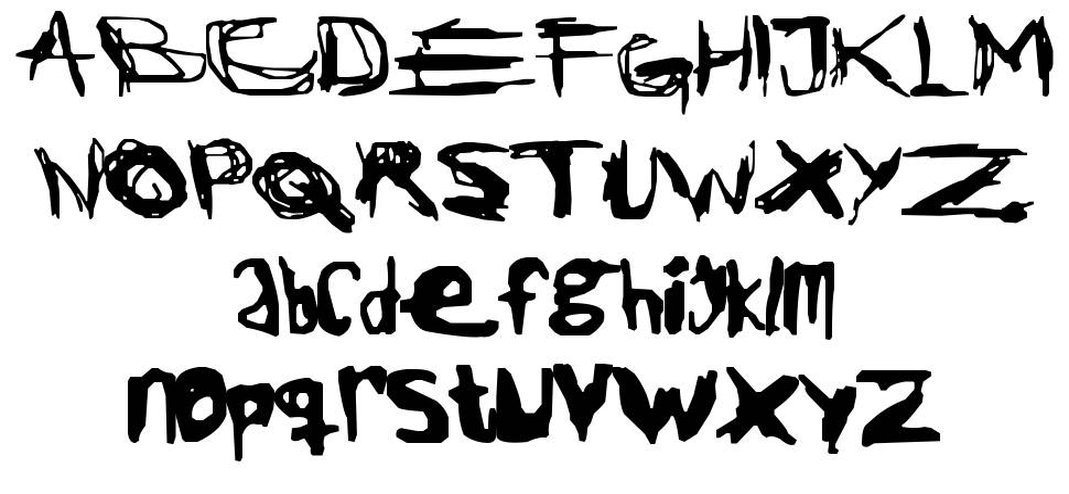 Jack the Ripper font