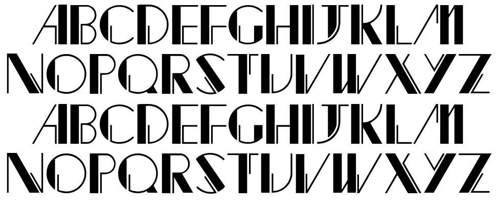 Jacked font