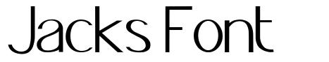 Jacks Font font