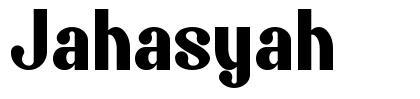 Jahasyah fonte