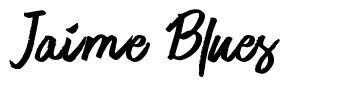 Jaime Blues 字形
