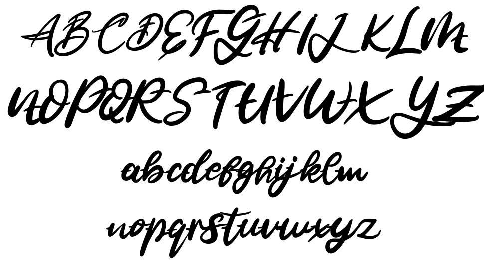 Jalie font