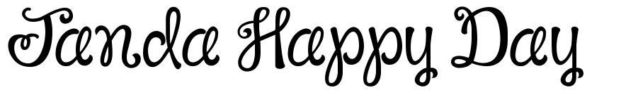 Janda Happy Day font