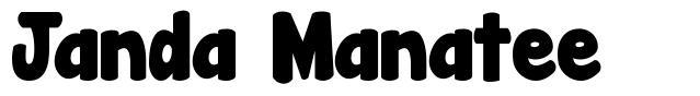 Janda Manatee font