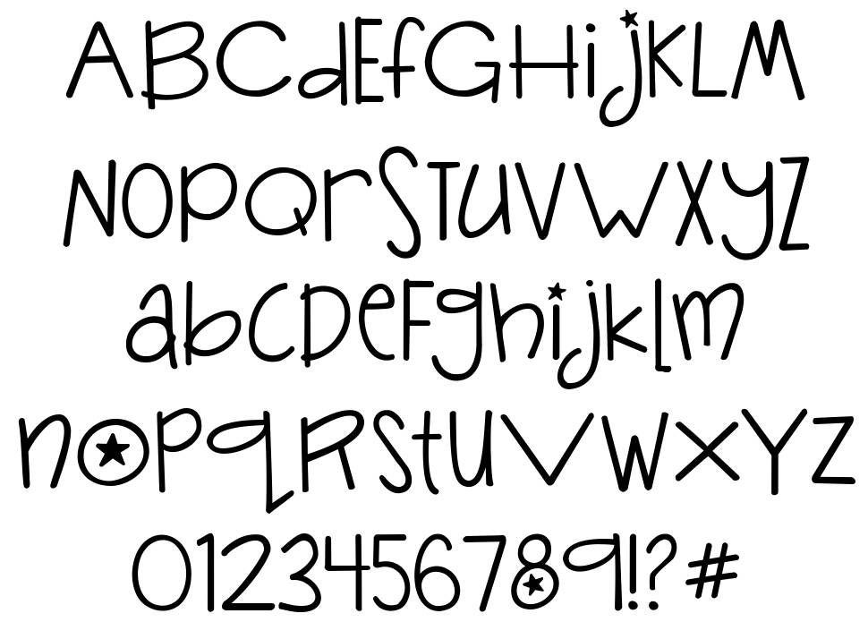 Janda Silly Monkey font