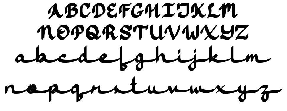 Jasmine Script フォント