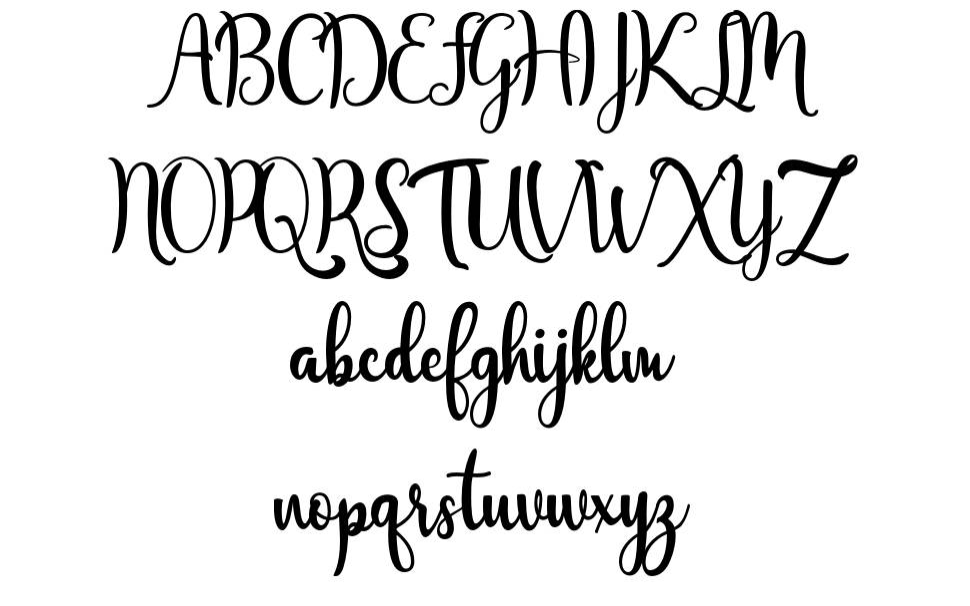 Javinka Script フォント