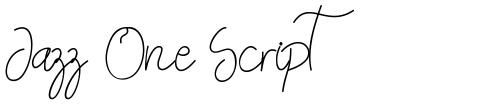 Jazz One Script