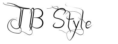 JB Style 字形