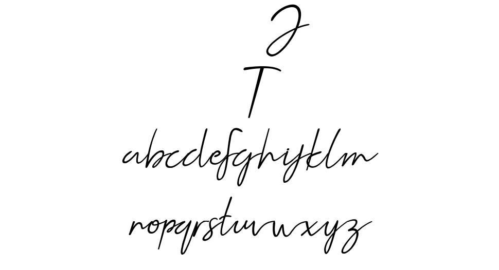 Jellaine font