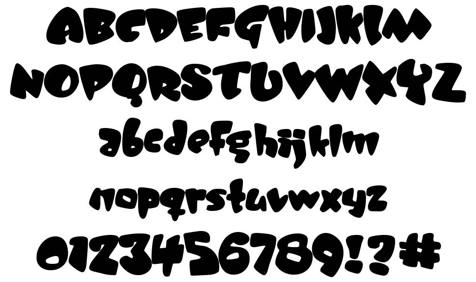 Jelly Belly font