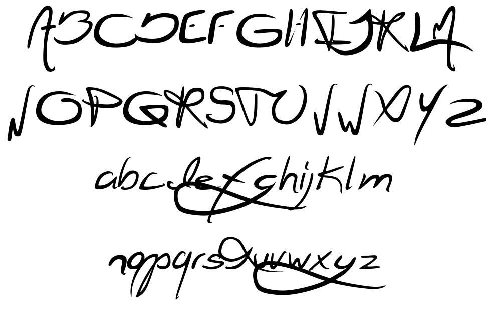 Jellyka Jellyfish шрифт