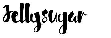 Jellysugar font