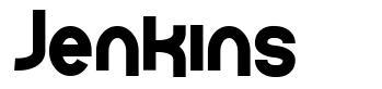 Jenkins font