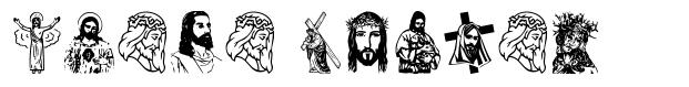 Jesus Christ font