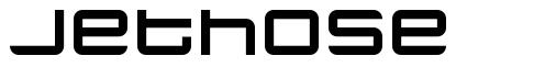 Jethose шрифт