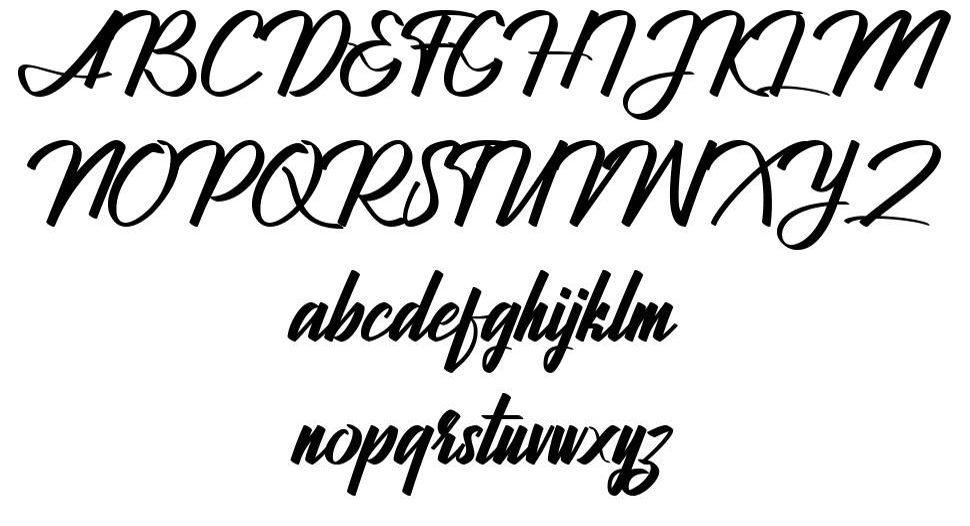Jhanttan font